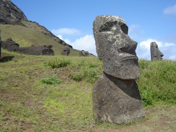 Rapa Nui in Easter Islands 2